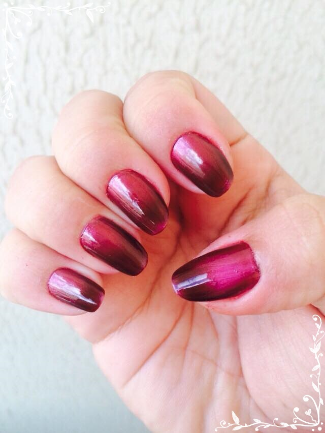 Esmalte Bruna Marquezine - Red Black Ludurana